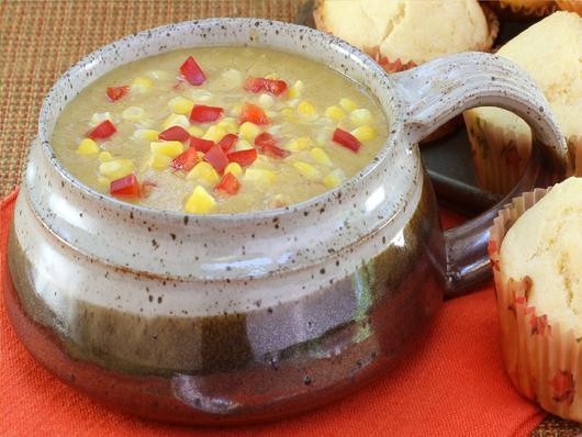 Louisiana Corn + Crab Bisque