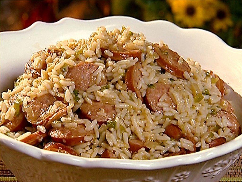 Pork + Smoked Sausage Jambalaya