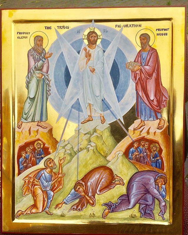 """""""It is indeed good to be here, as you have said, Peter. It is good to be with Jesus and to remain here forever. What greater happiness or higher honor could we have than to be with God, to be made like him, and to live in his light?"""" - Anastasius of Sinai (c. AD 650) on the Feast of Transfiguration, which we celebrate today."""