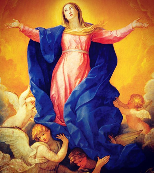 Remember: August 15 is the Feast of the Assumption of Our Lady, a Holy Day of Obligation for all Catholics.  In addition to our regularly scheduled daily Masses, there will also be a Vigil Mass on Wednesday at 5pm, a Mass at 12 noon on Thursday, and at 5pm on Thursday.  Which Mass will you be attending?