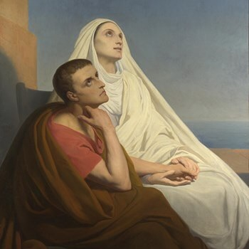 Today the Church remembers Saint Monica who never stopped praying with many tears for the conversion of her son, Augustine.  We pray today, with the intercession of St. Monica, for all our children who have left the faith. We cry to God with weeping for the salvation of their souls. And we know that our tears are never unseen by our loving and merciful Lord.