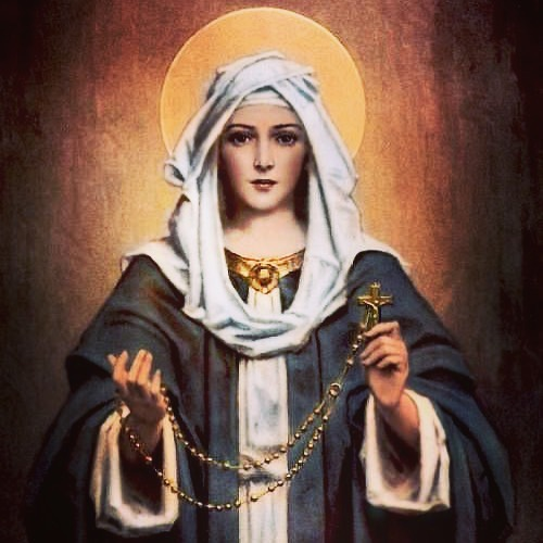 """""""The Rosary is the most beautiful and the richest of all prayers to the Mediatrix of all grace; It is the prayer that touches most the heart of the Mother of God. Say it each day!"""" — Pope St. Pius X"""