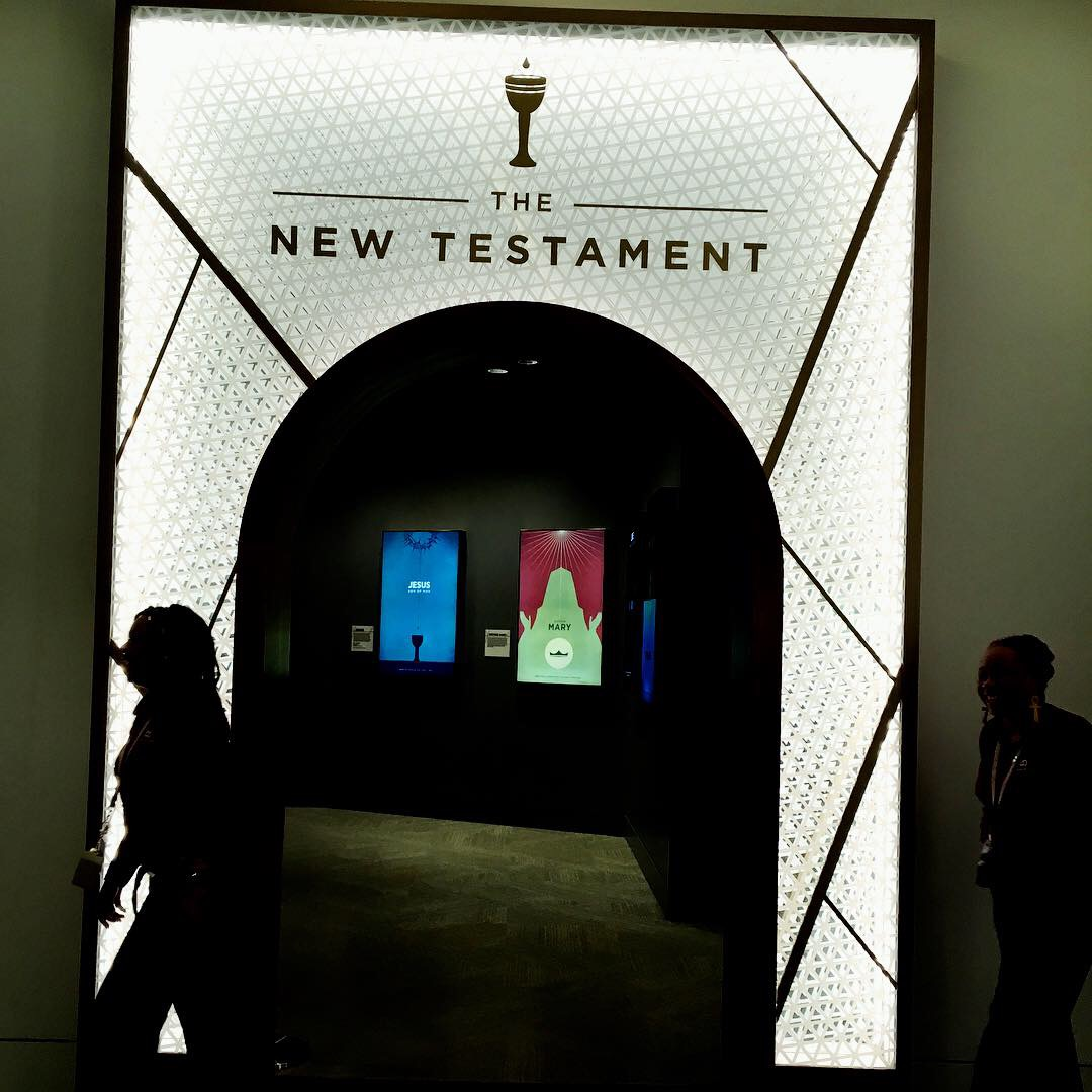 They also have a tour of the New testament…