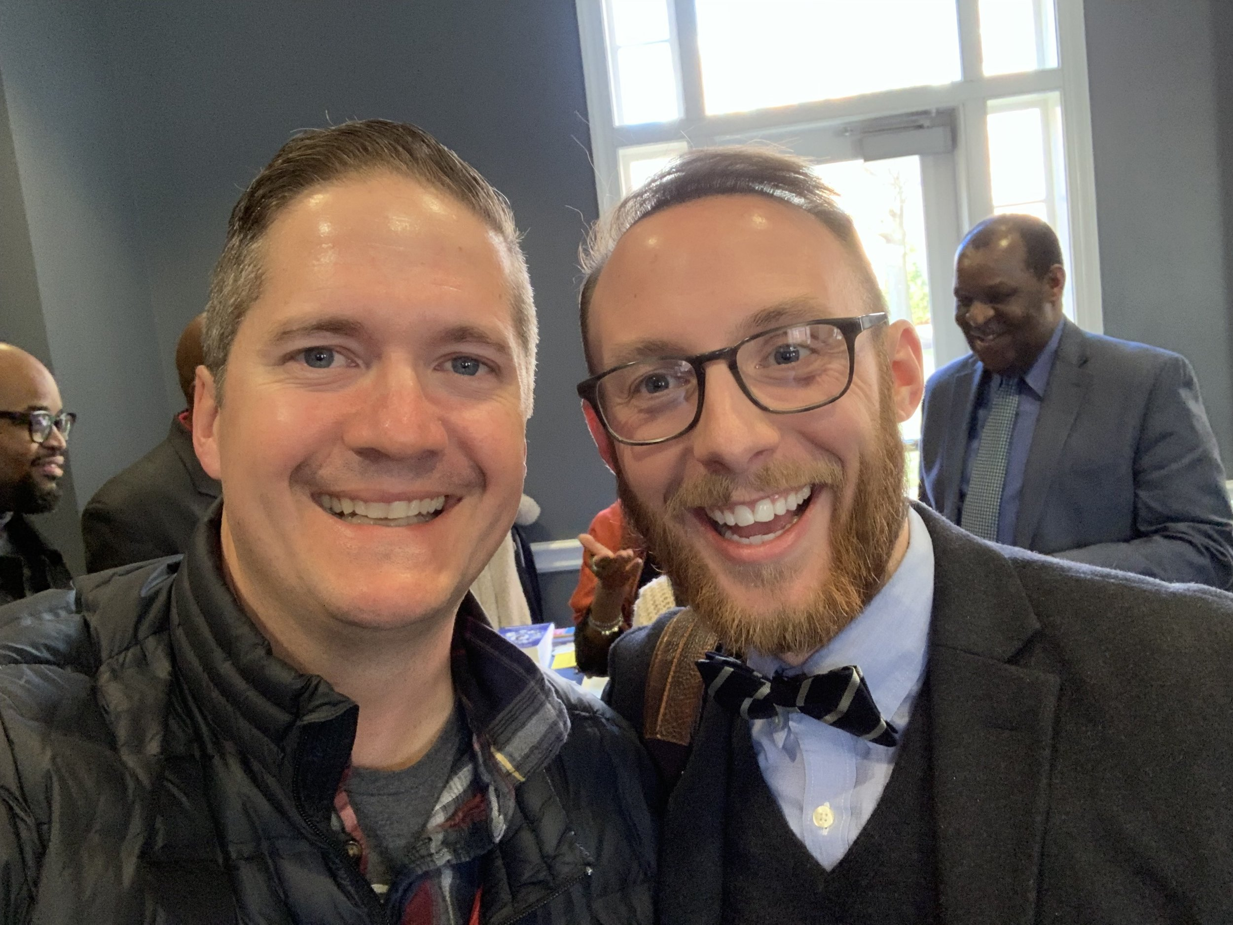 The event we were in DC for was at the University of Maryland for the Society for Pentecostal Studies. I even saw friends there that I had no idea I would see like Brenton Fessler my Pastor friend from Orange County, California. All in all, a great time in the Capital of the good 'ole U.S of A!