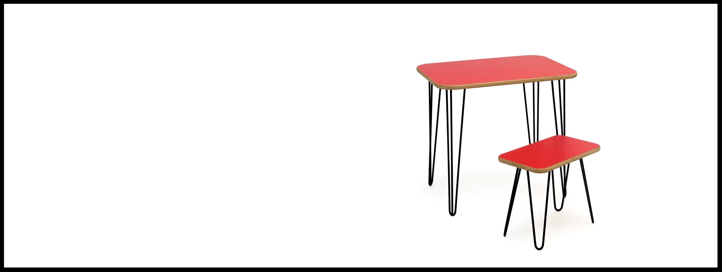 Englert Desk & Stool Set - from £350.00