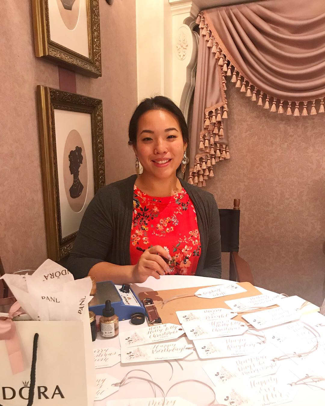 Promotional Calligraphy Events