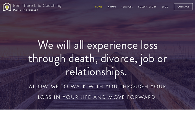 Ben There Life Coaching Website