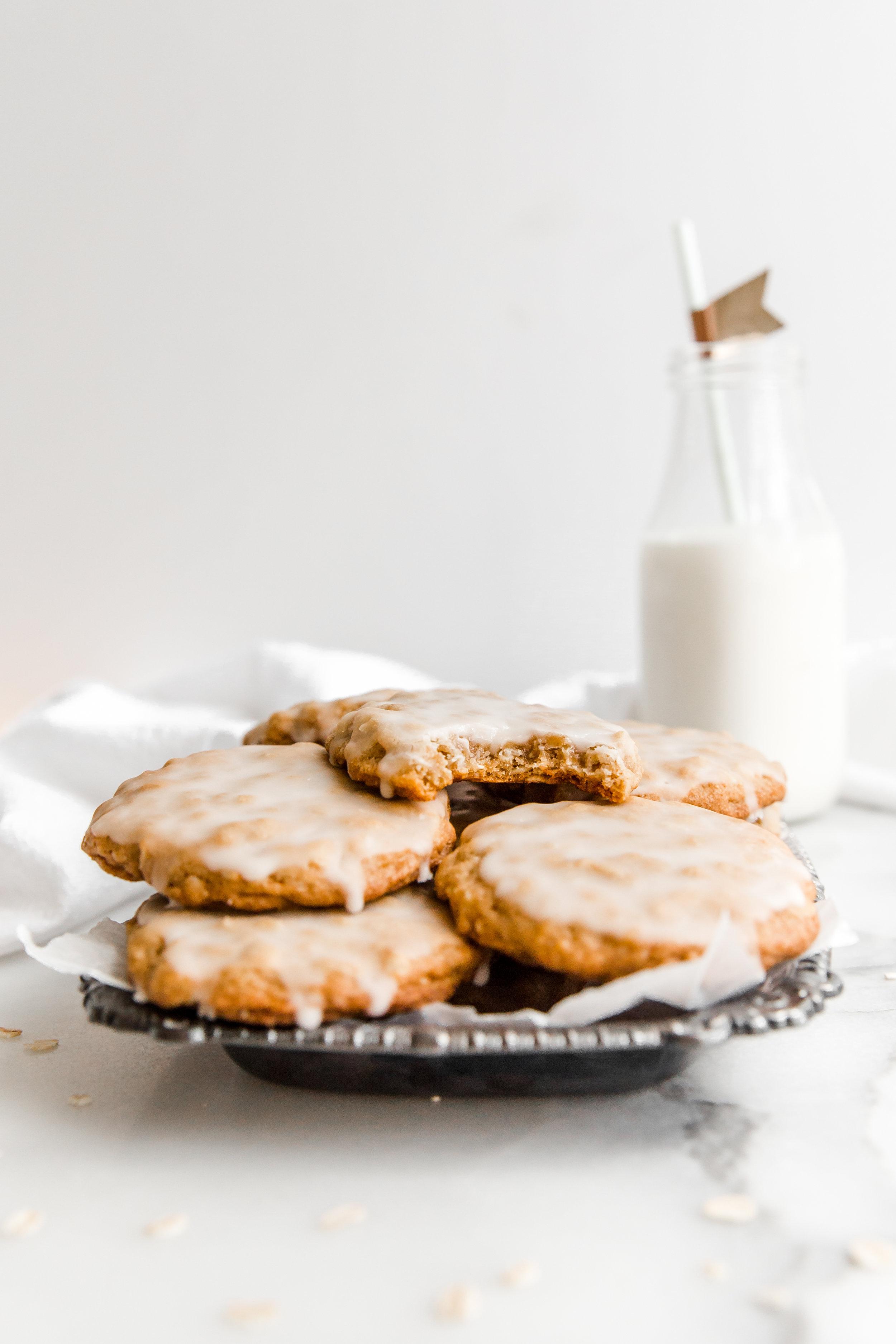 Iced Maple Oatmeal Cookies || To Salt & See-1.jpg