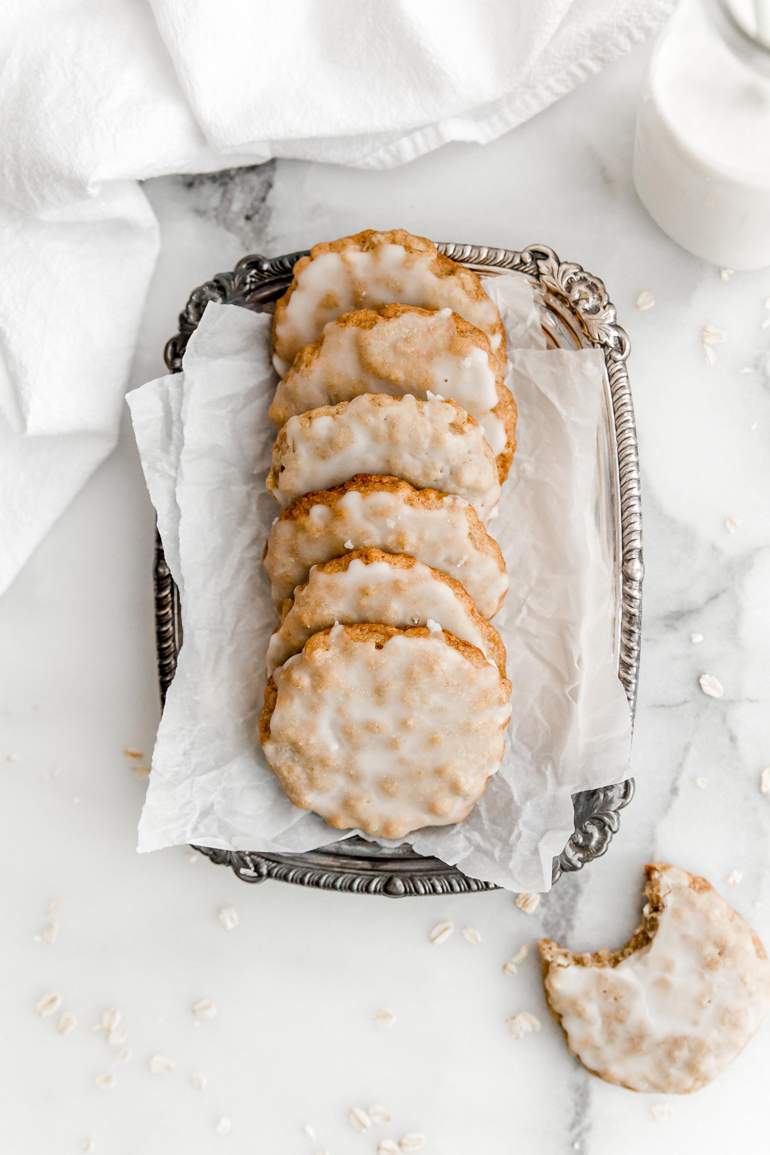 Iced Maple Oatmeal Cookies || To Salt & See-4.jpg