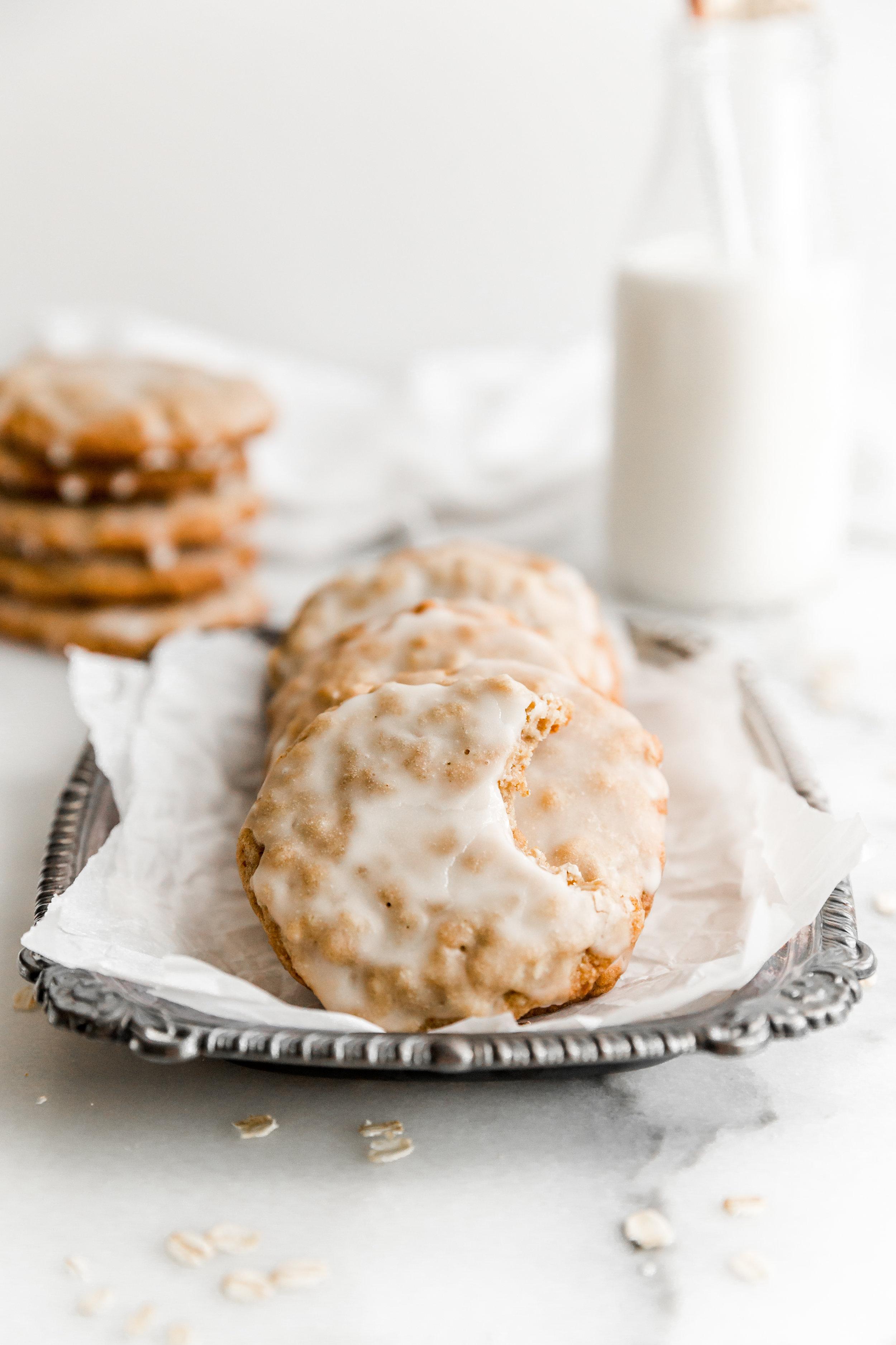 Iced Maple Oatmeal Cookies || To Salt & See-5.jpg