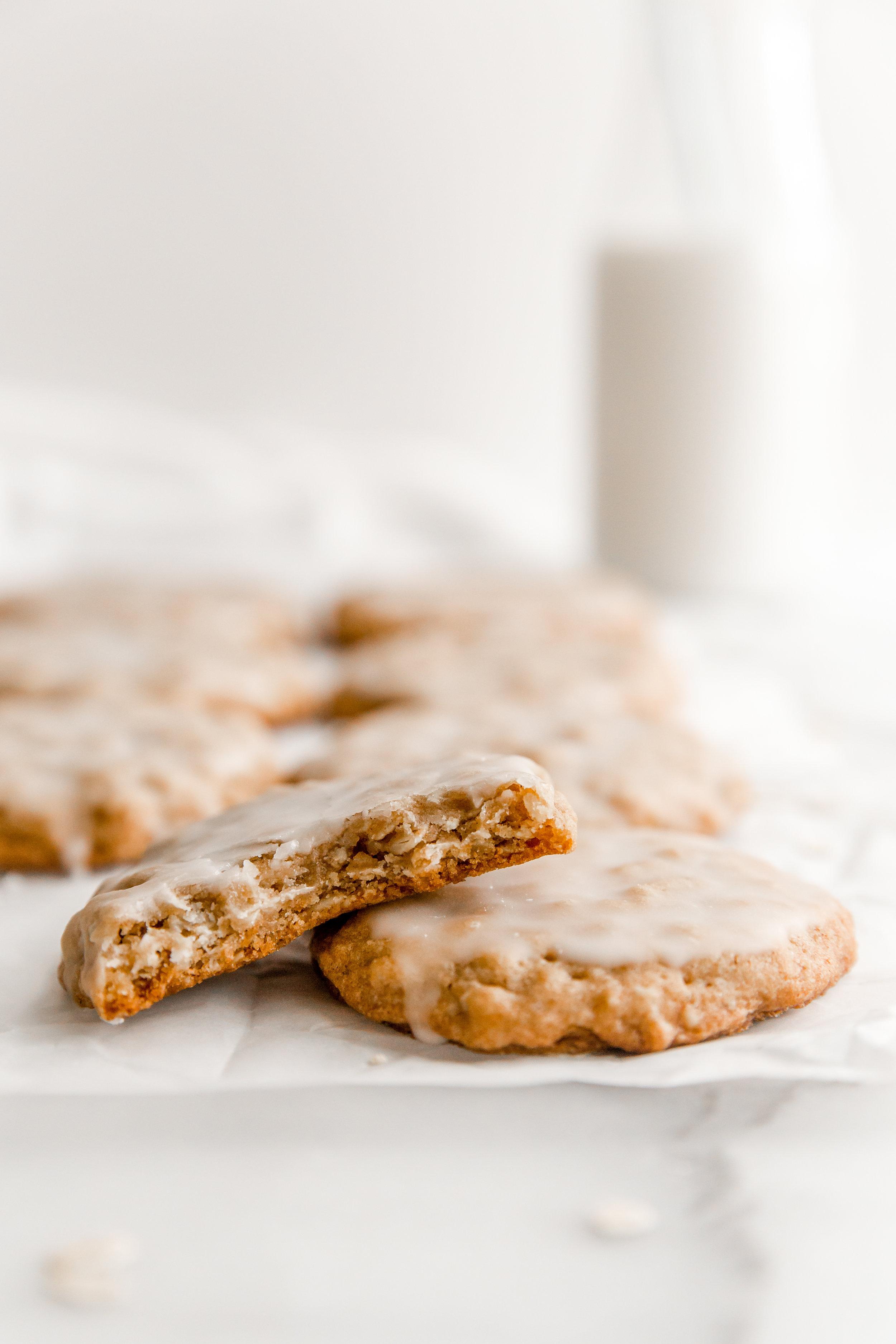Iced Maple Oatmeal Cookies || To Salt & See-8.jpg