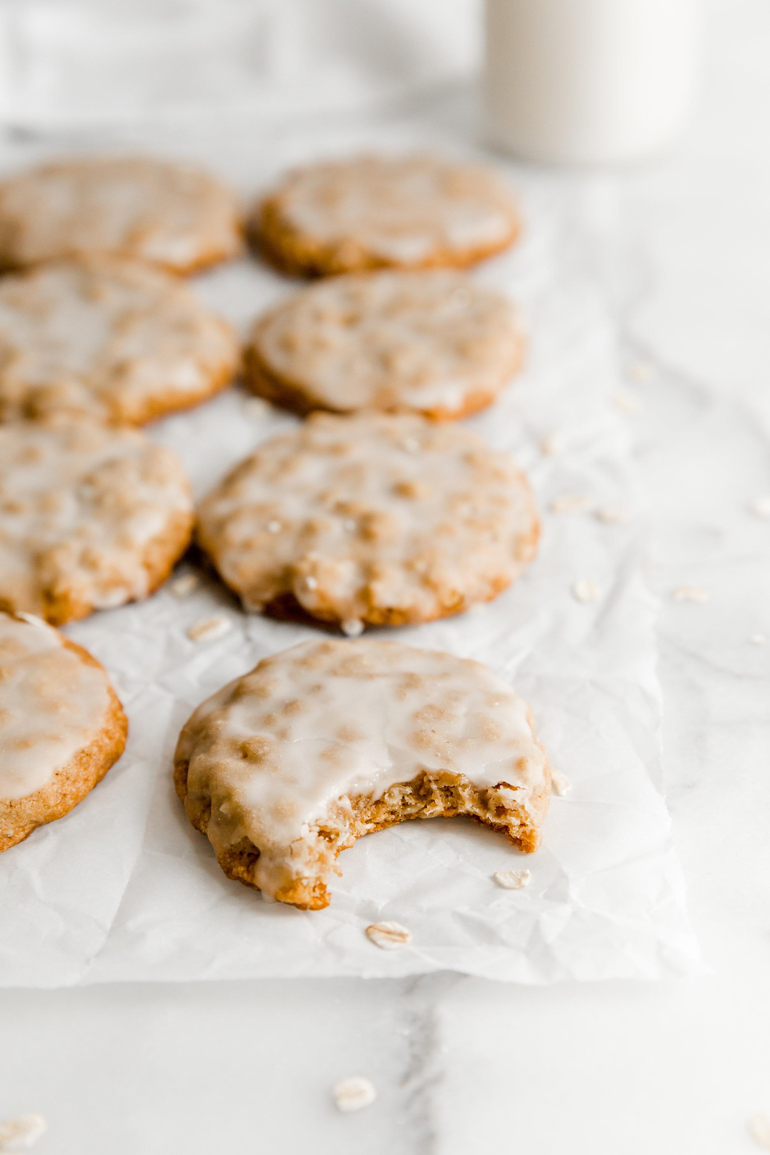 Iced Maple Oatmeal Cookies || To Salt & See-7.jpg