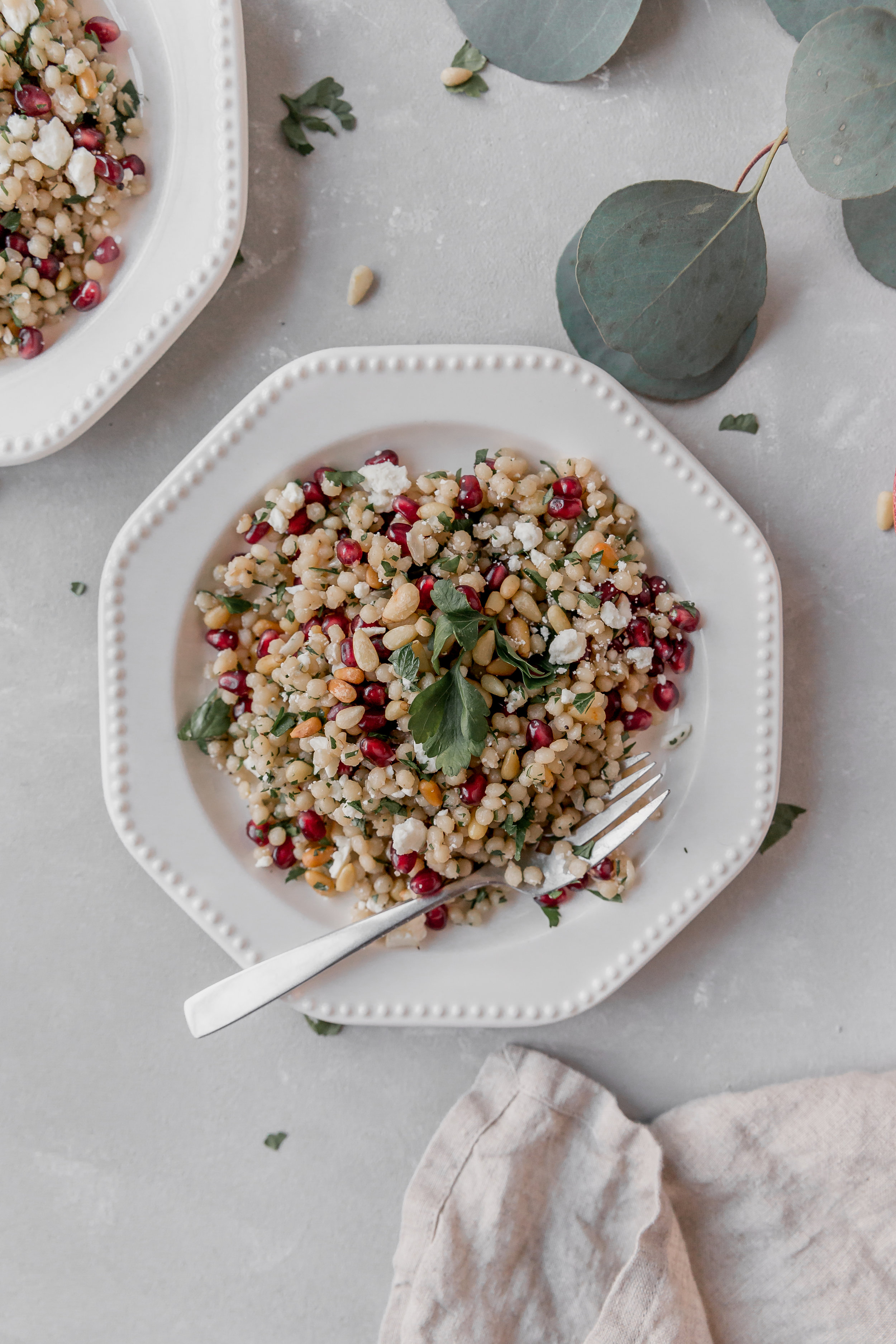 Couscous with Pine Nuts and Pomegranate || To Salt & See-6.jpg