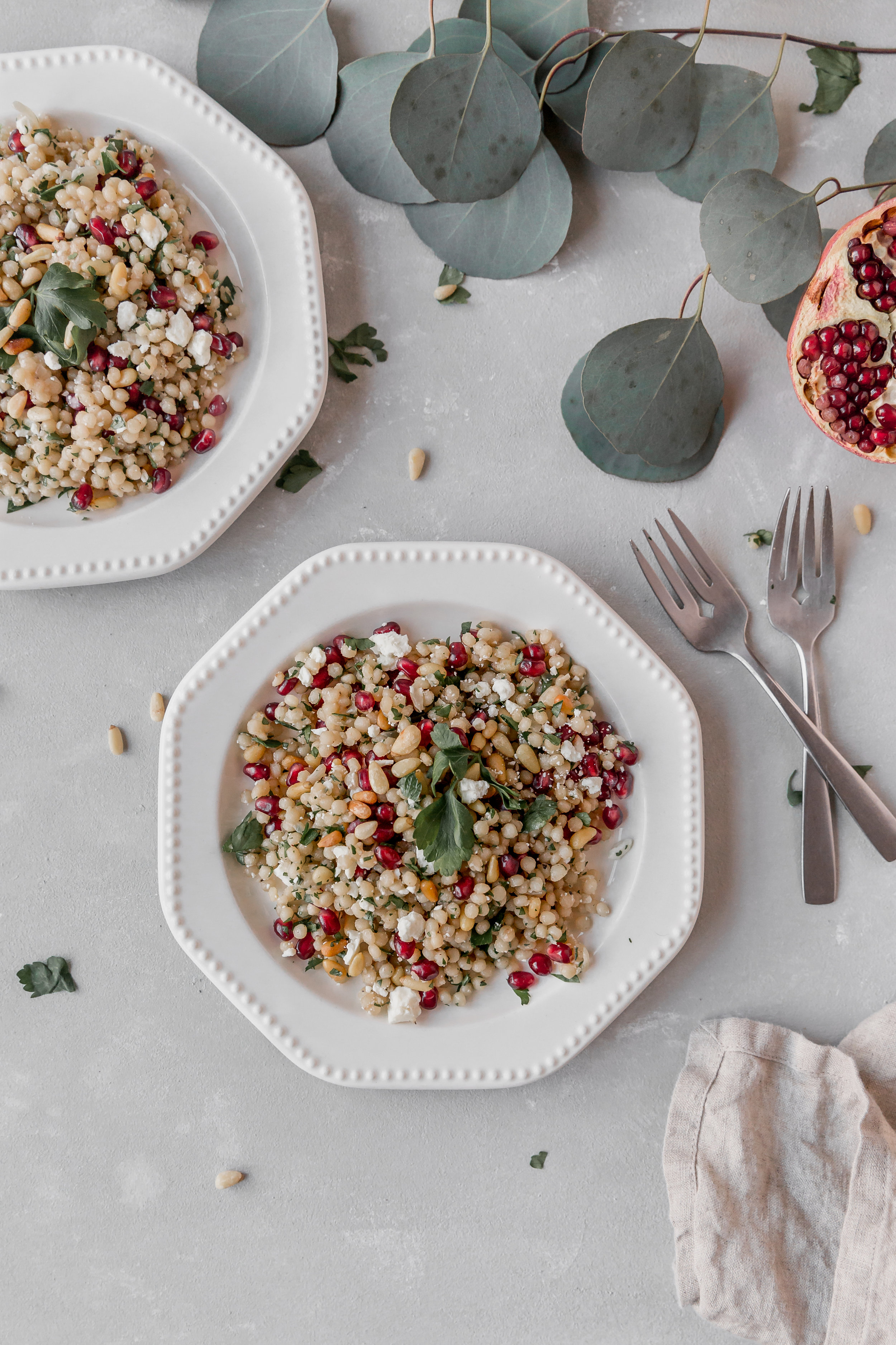 Couscous with Pine Nuts and Pomegranate || To Salt & See-8.jpg