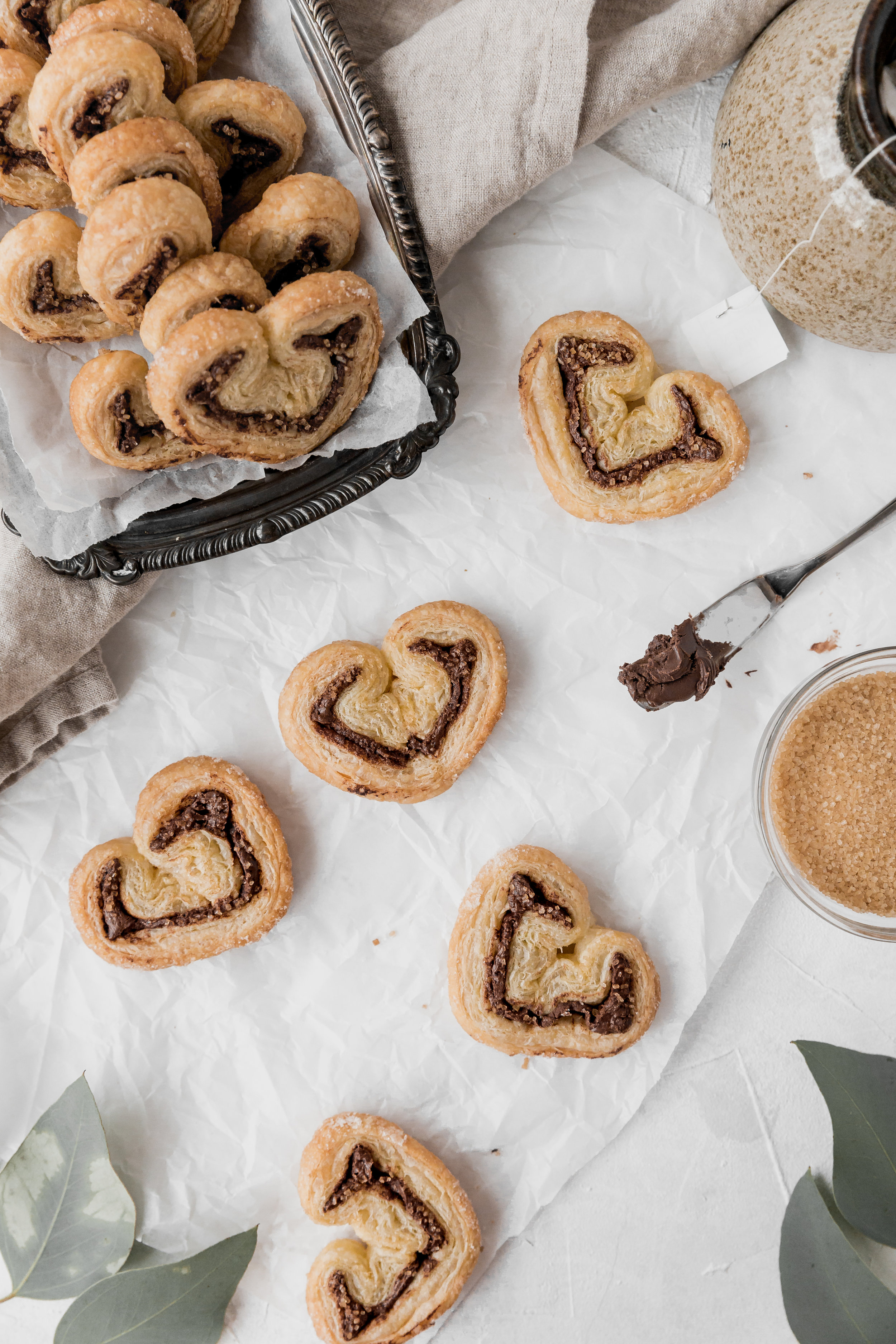 Lazy Girl Nutella Palmiers || To Salt & See