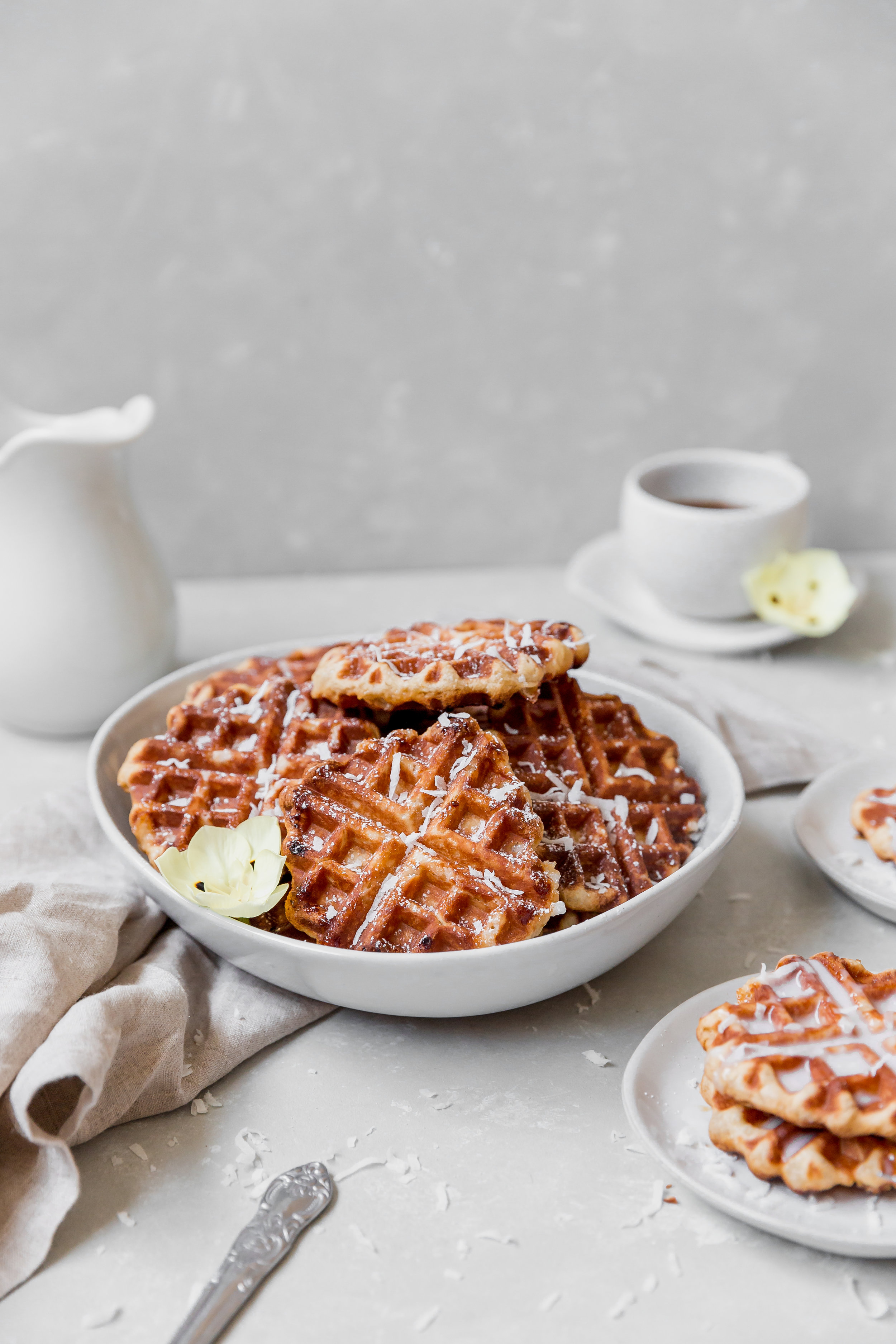 To Salt & See || Coconut Belgium Liege Waffles-3.jpg