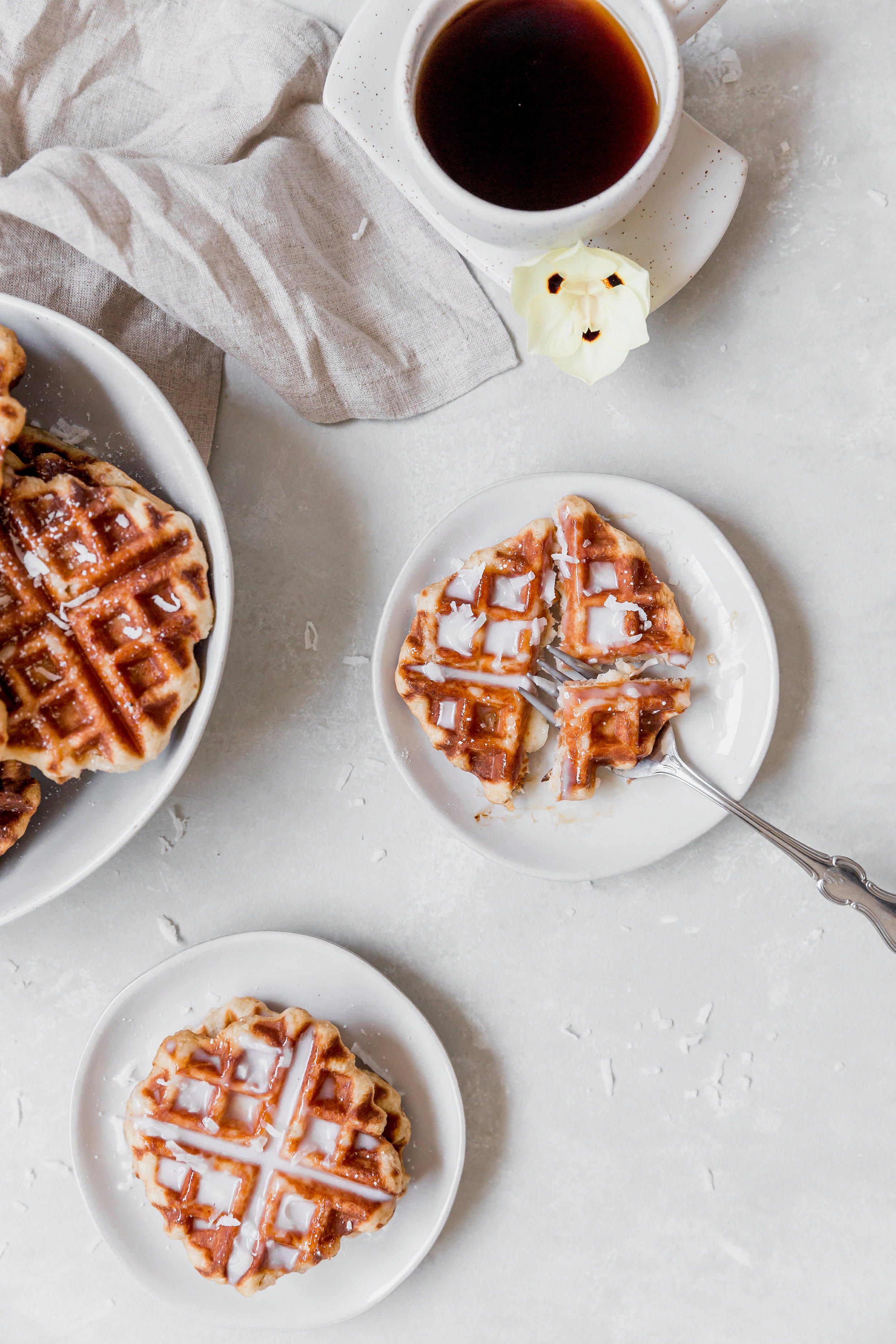 To Salt & See || Coconut Belgium Liege Waffles-4.jpg