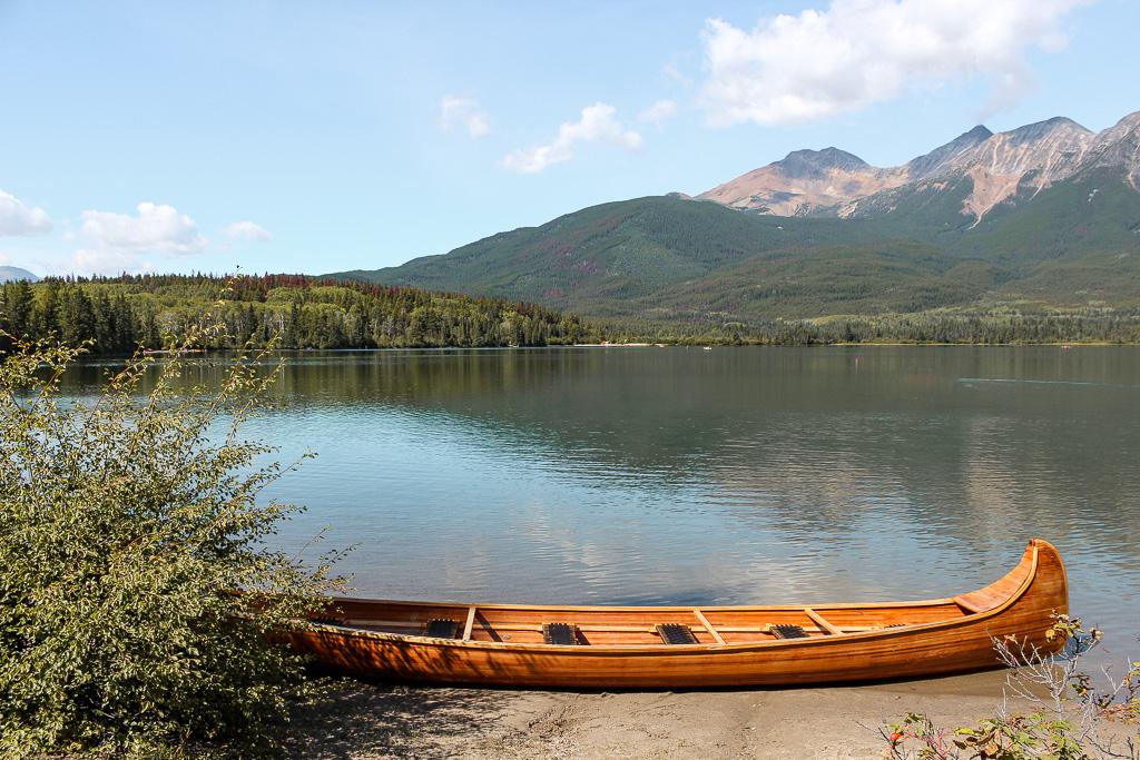 Blue canoe Jill Clark photo.jpg