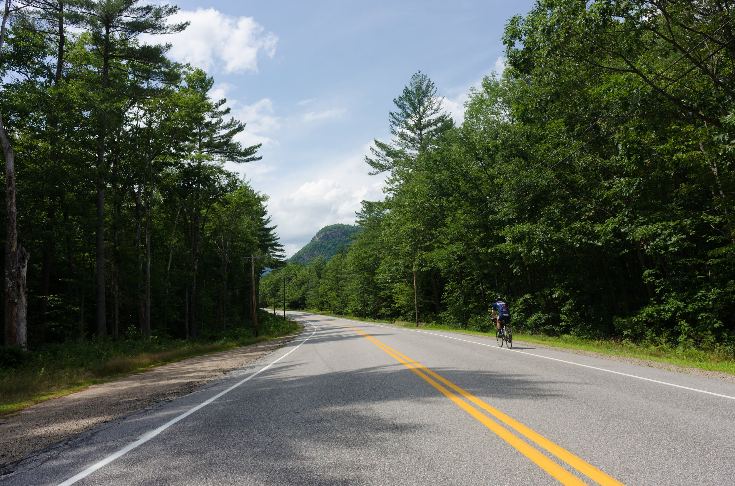 The route home was more of the same - high temperatures and lots of climbing.