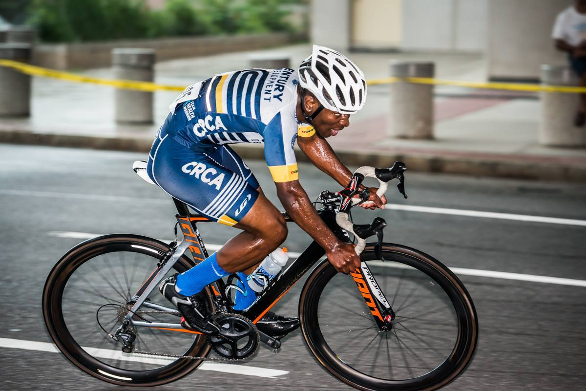 Century Road Club Development Foundation in action at the 2016 White Plains Downtown Criterium (photo:Patrick Schnell)
