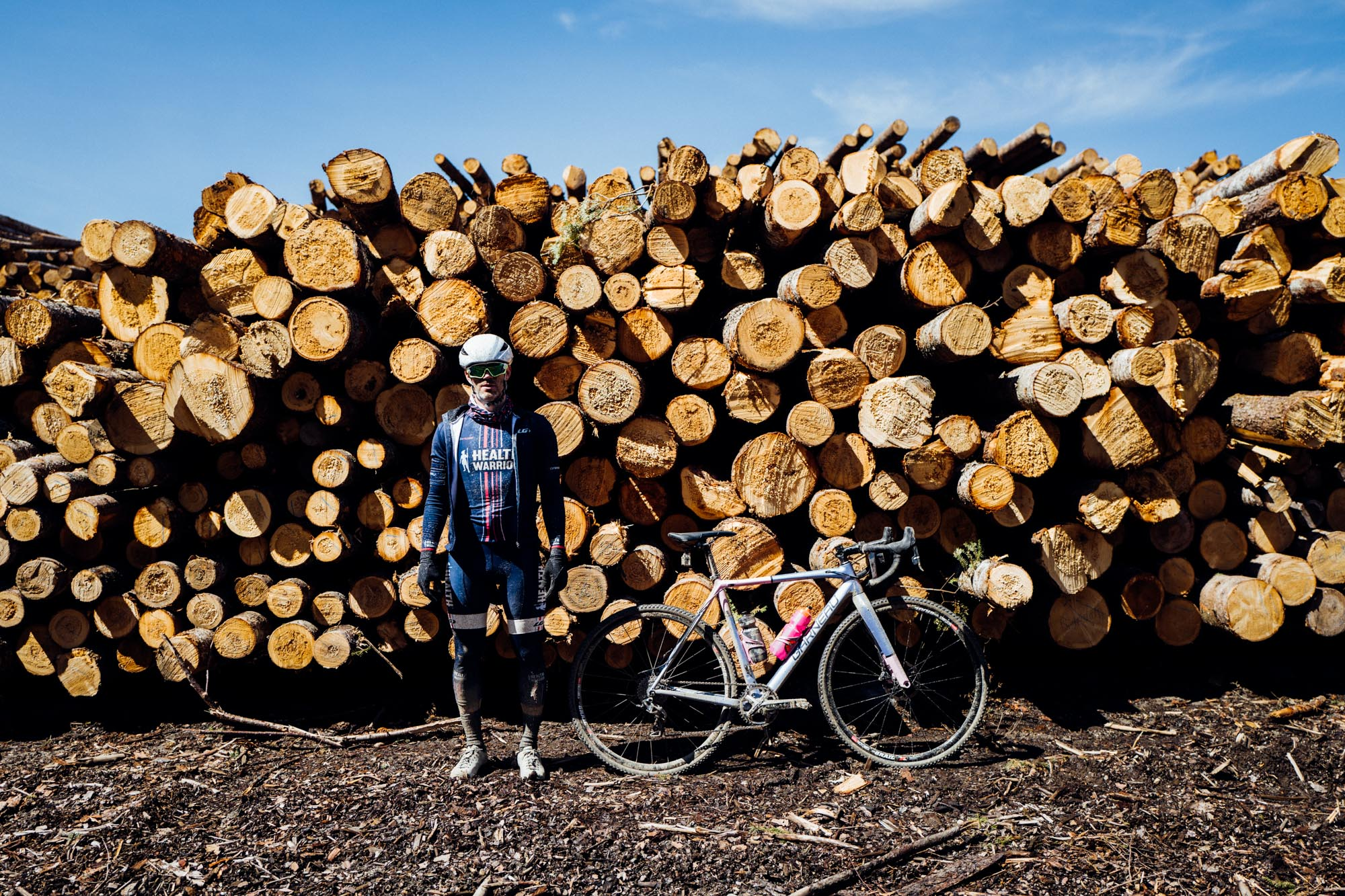 """Roger Parmelee at the  2016 edition of Rasputitsa  in what was the team's initial foray into gravel grinding. It was such an incredible experience that we went back the following year in significantly greater numbers, a weekend detailed in  """"How the Weekend Was Won: Rasputitsa 2017."""""""