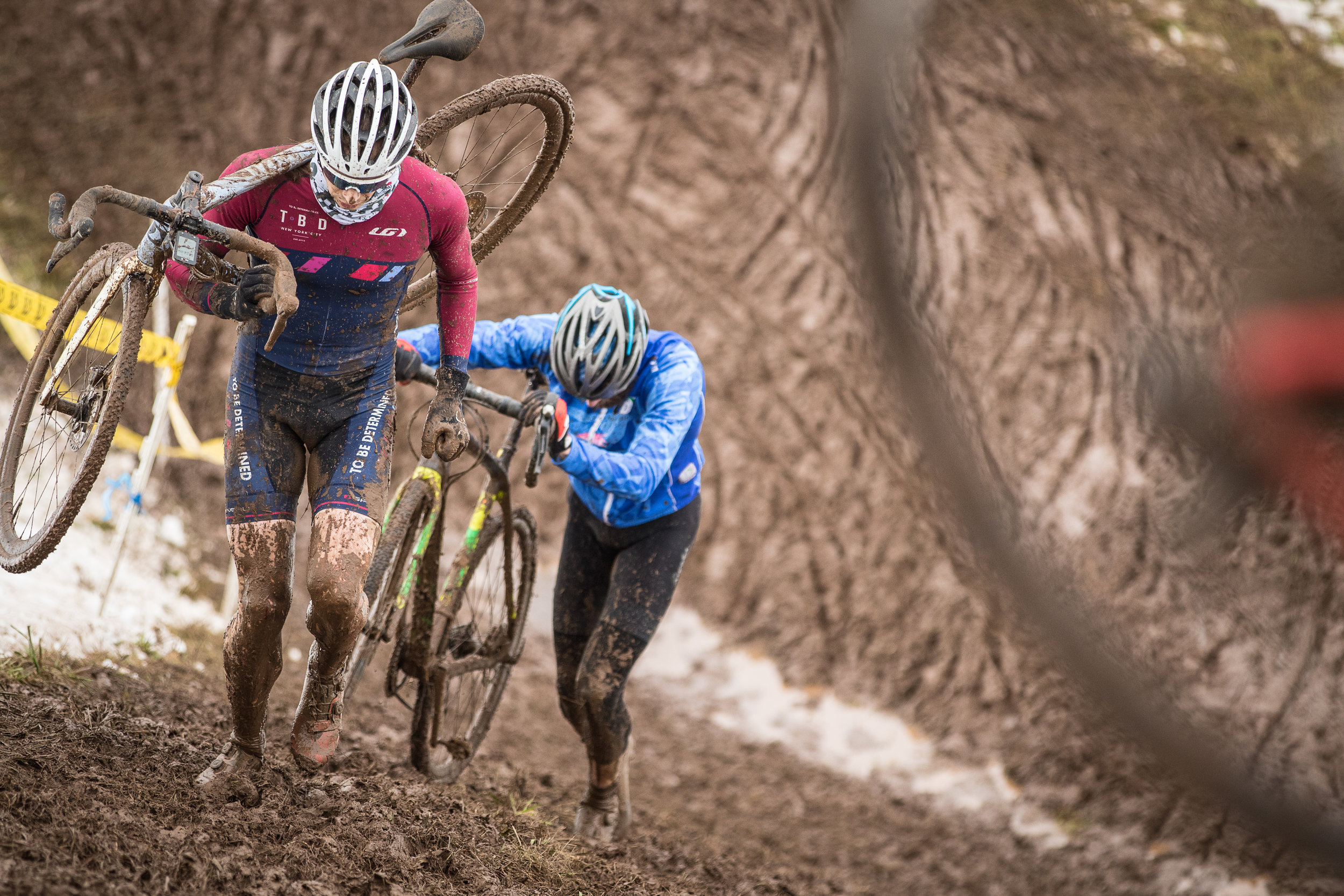 There was a lot of running at this year's Supercross Cup.