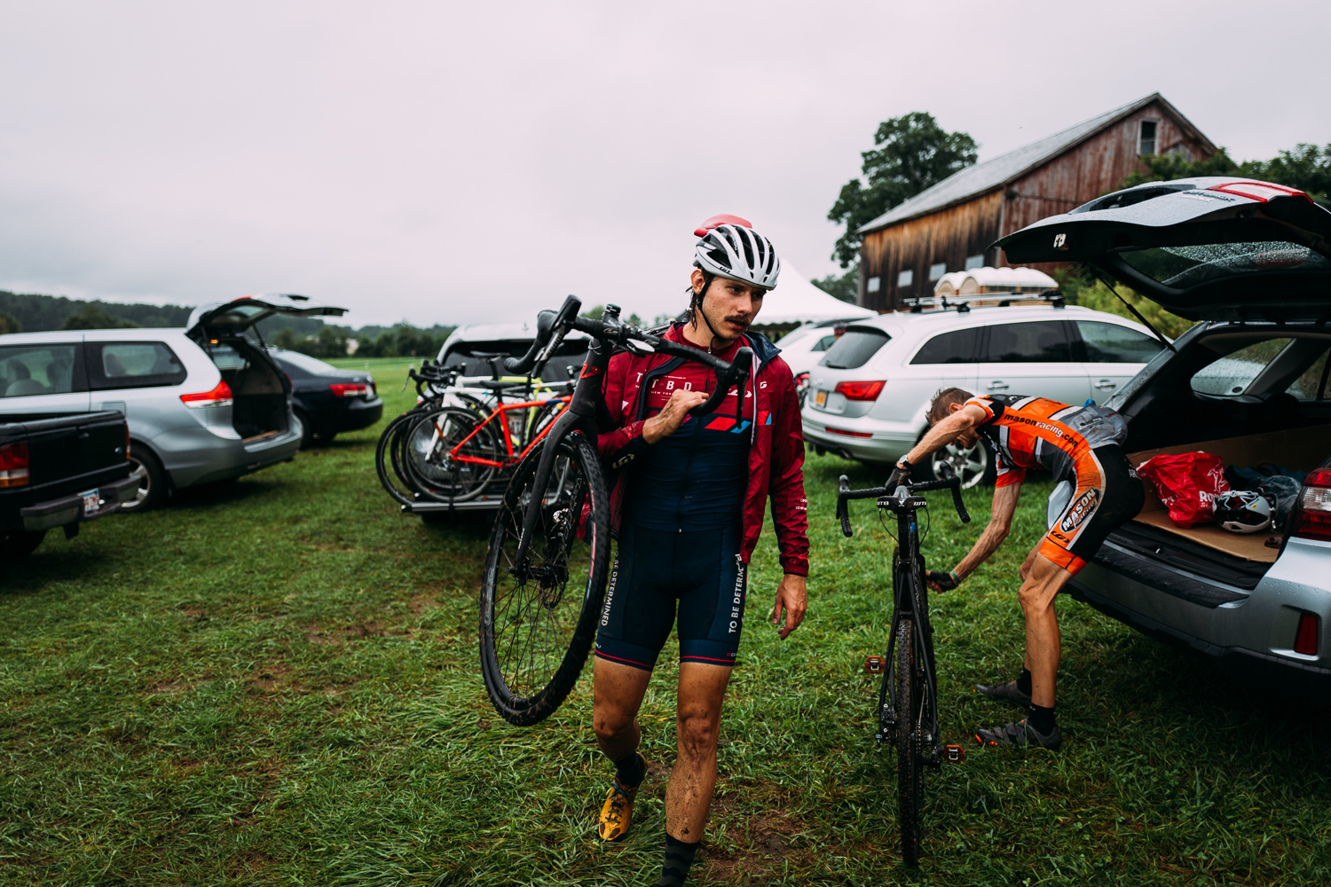 Stephen Rousseau at CycleSmart Cross Camp in August 2018.