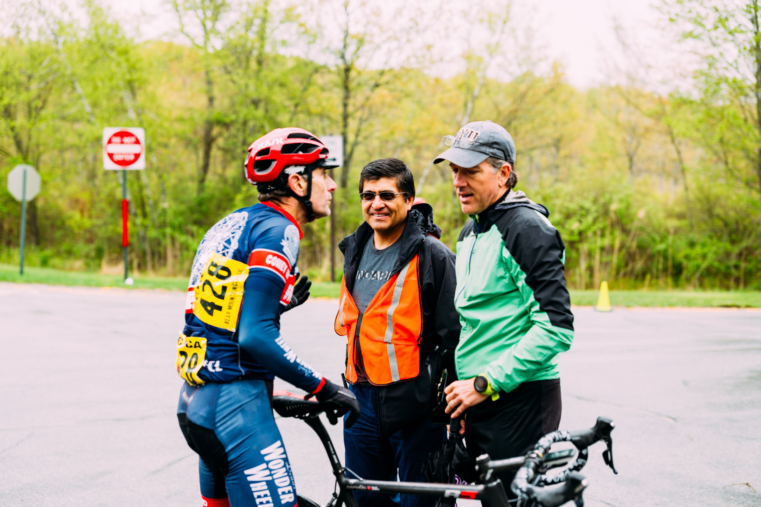 Alex Rodriguez in action on race day, via our Bear Mountain Classic 2018 Race Report