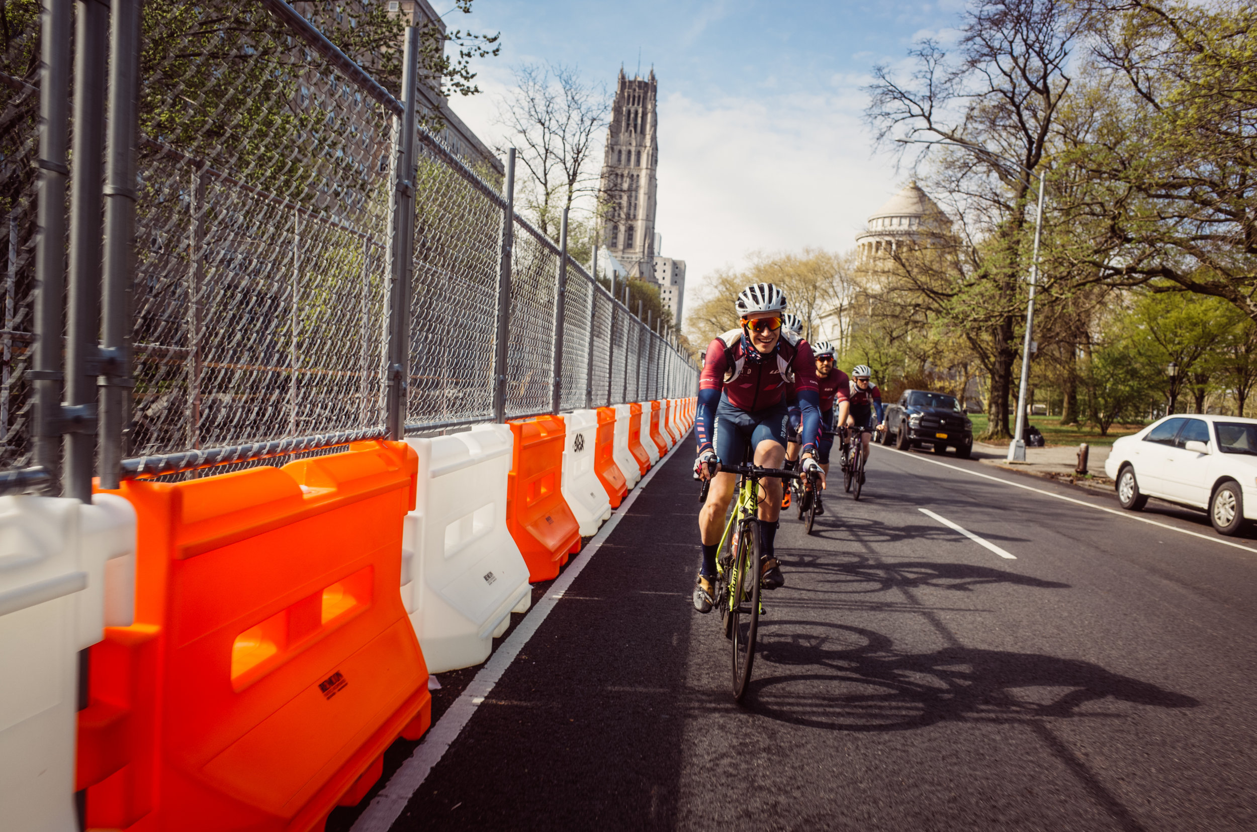 Finally, proper spring riding weather has arrived in New York City which means the team was rolling in big numbers this past Sunday.