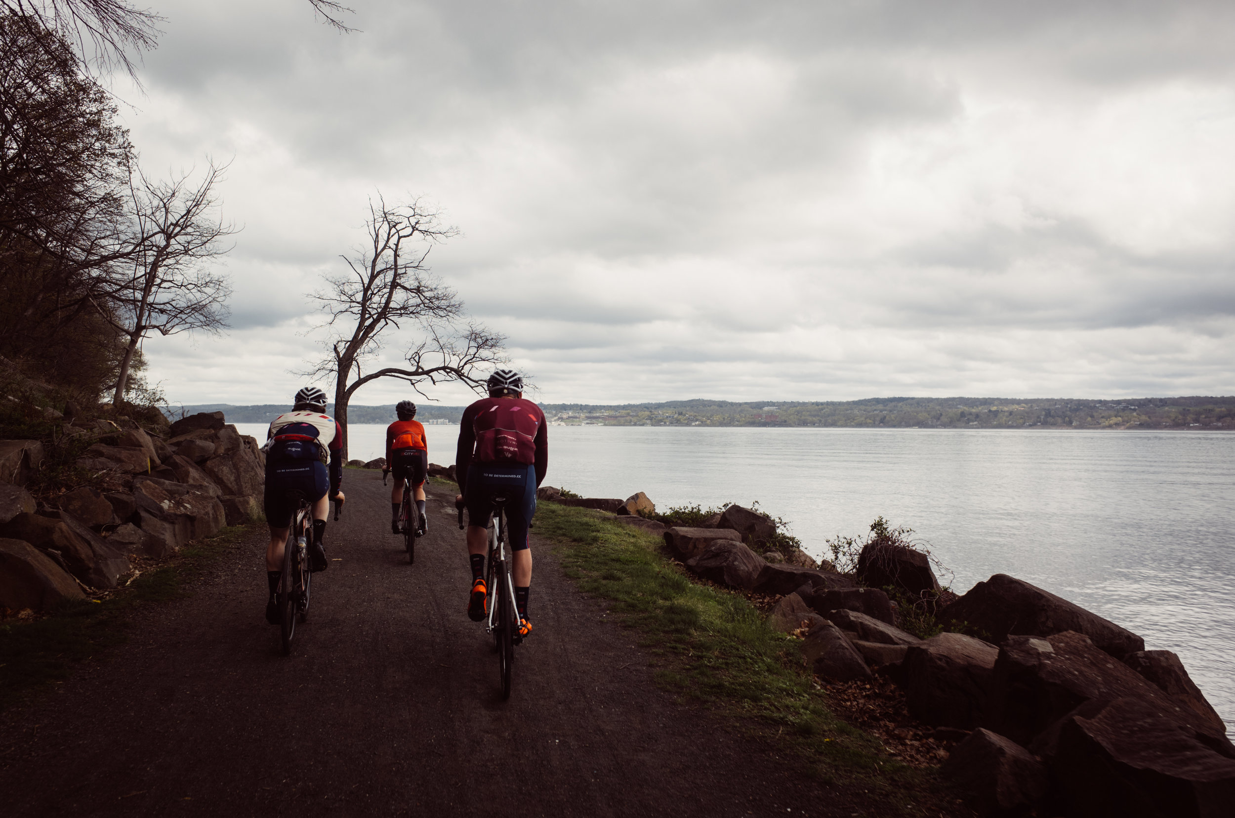 The clouds may have rolled in for stretches of our Easter Sunday ride but that didn't stop us from sneaking in time on some of our favorite roads and trails.
