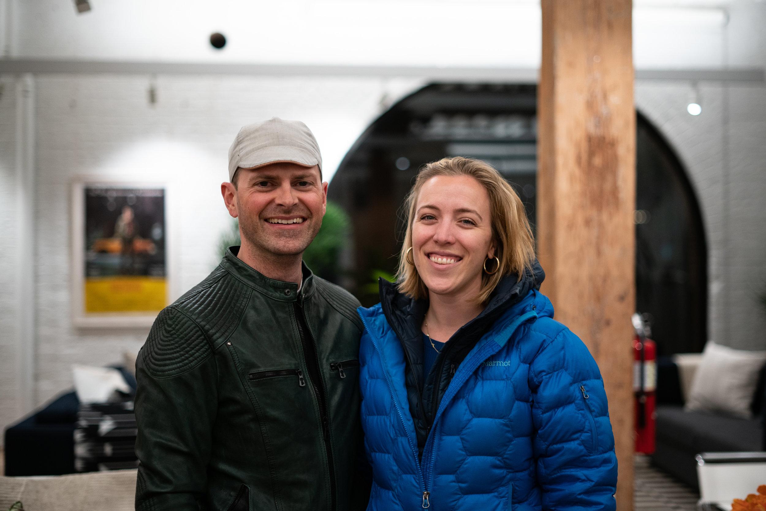 Gabe and Kacey Lloyd. Photo: Sebastian Vidal