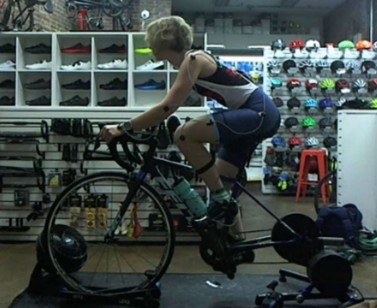 My bike fit with Chad at  endurance WERX