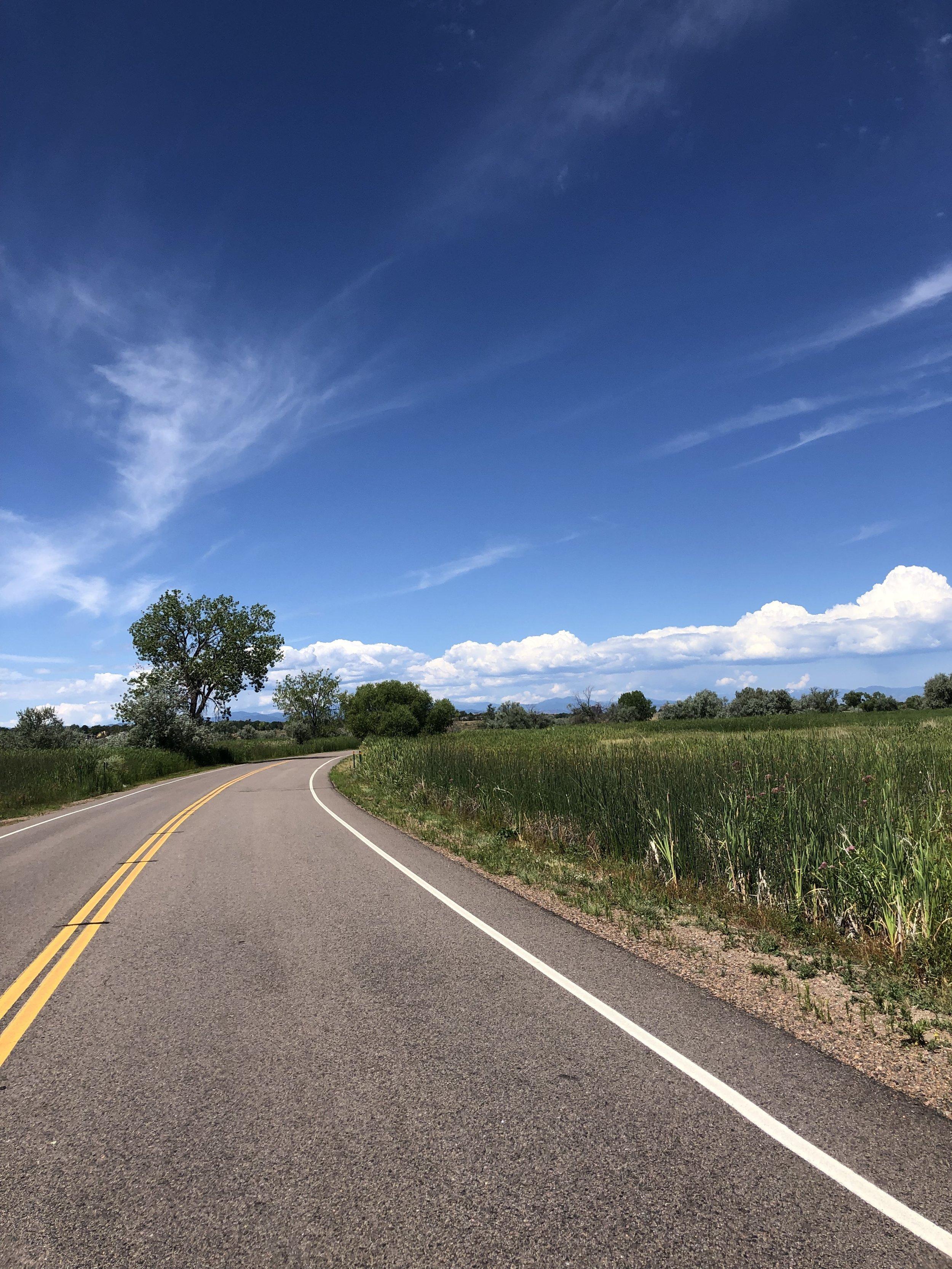 Pretty stretch of road