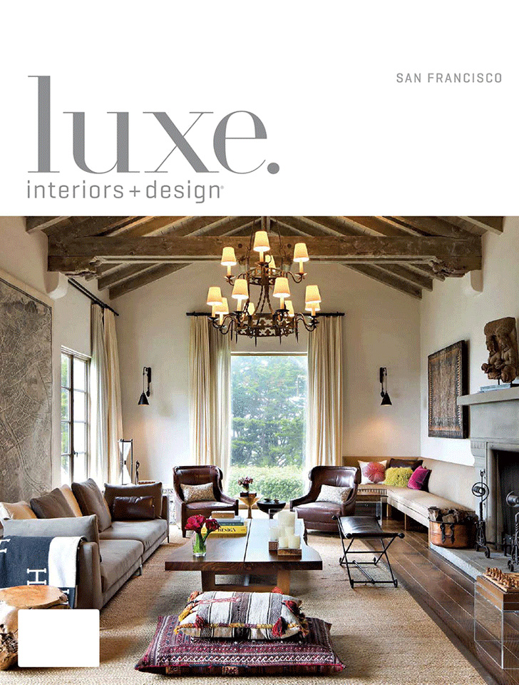 "Luxe Interiors + Design San Francisco's November/December 2016 article, ""Southern Exposure"" featured Tim Barber Ltd. Architecture's  New Colonial Revival Residence ."