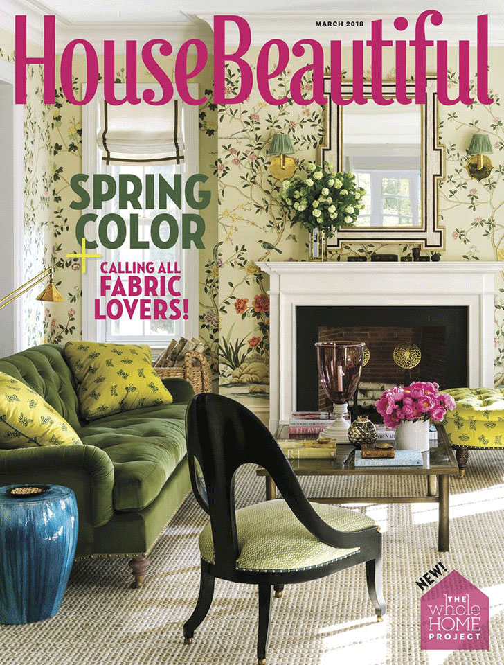 "Tim Barber Ltd.'s  Coastal Cottage Renovation  was the subject of House Beautiful's feature, ""Hollywood Sequel"" (March 2018)."