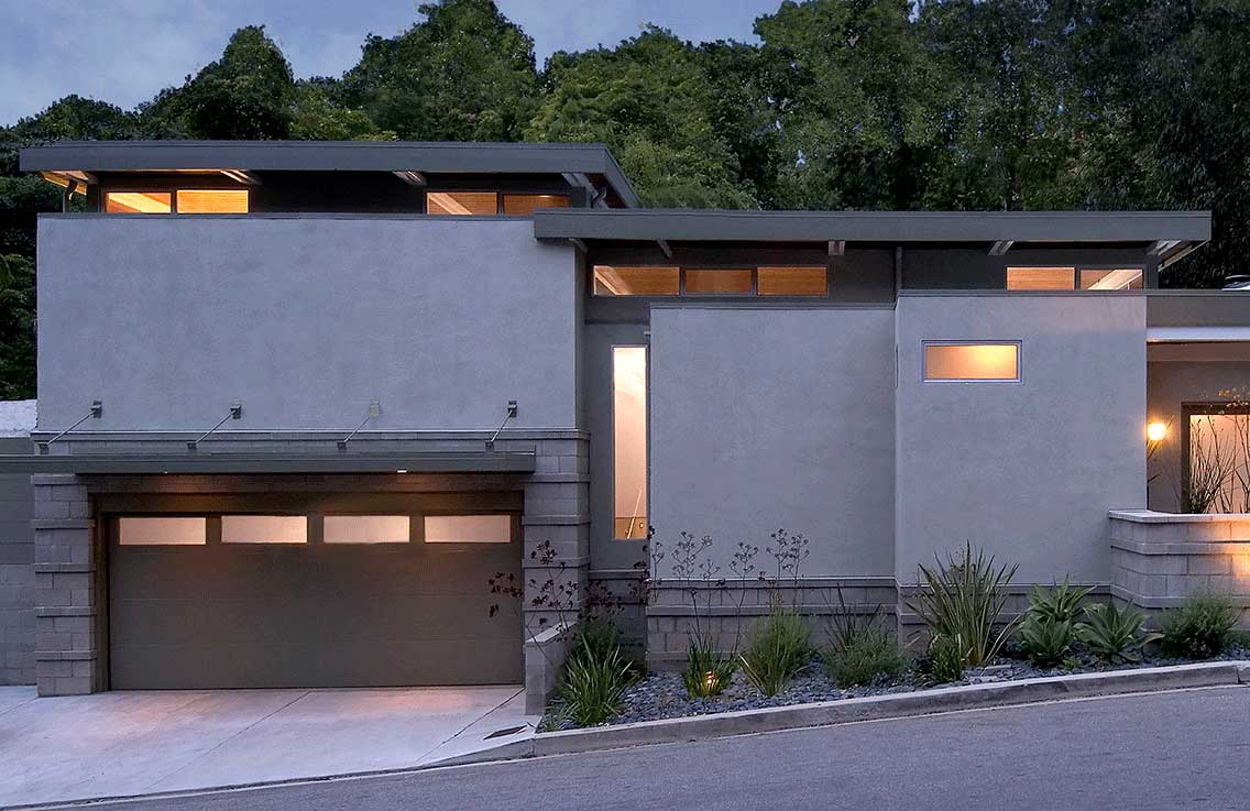 Mid-Century Modern home renovation in Laurel Canyon by Los Angeles residential architecture firm Tim Barber Ltd.
