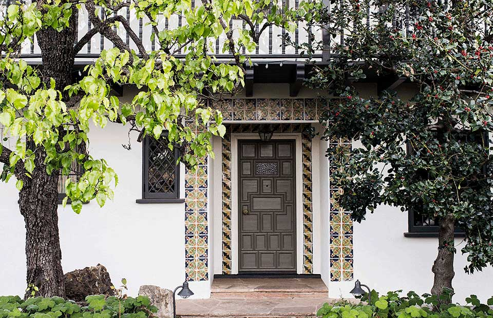 Spanish Colonial Revival Home in Santa Monica