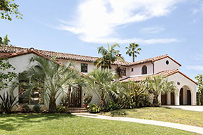 Spanish Colonial Revival House in Holmby Hills
