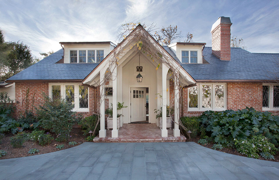 Traditional Brick House in Pacific Palisades