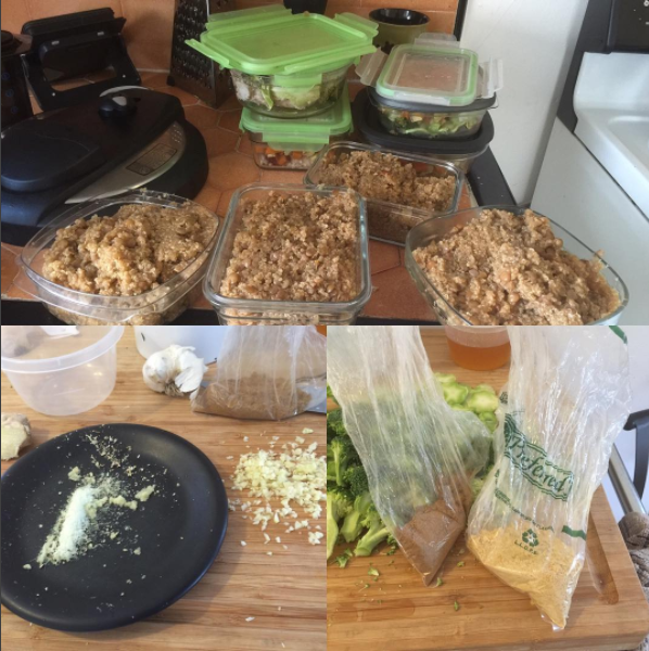 Training for Warriors Portland: We're into fitness, personal training... and PREP FOOD!