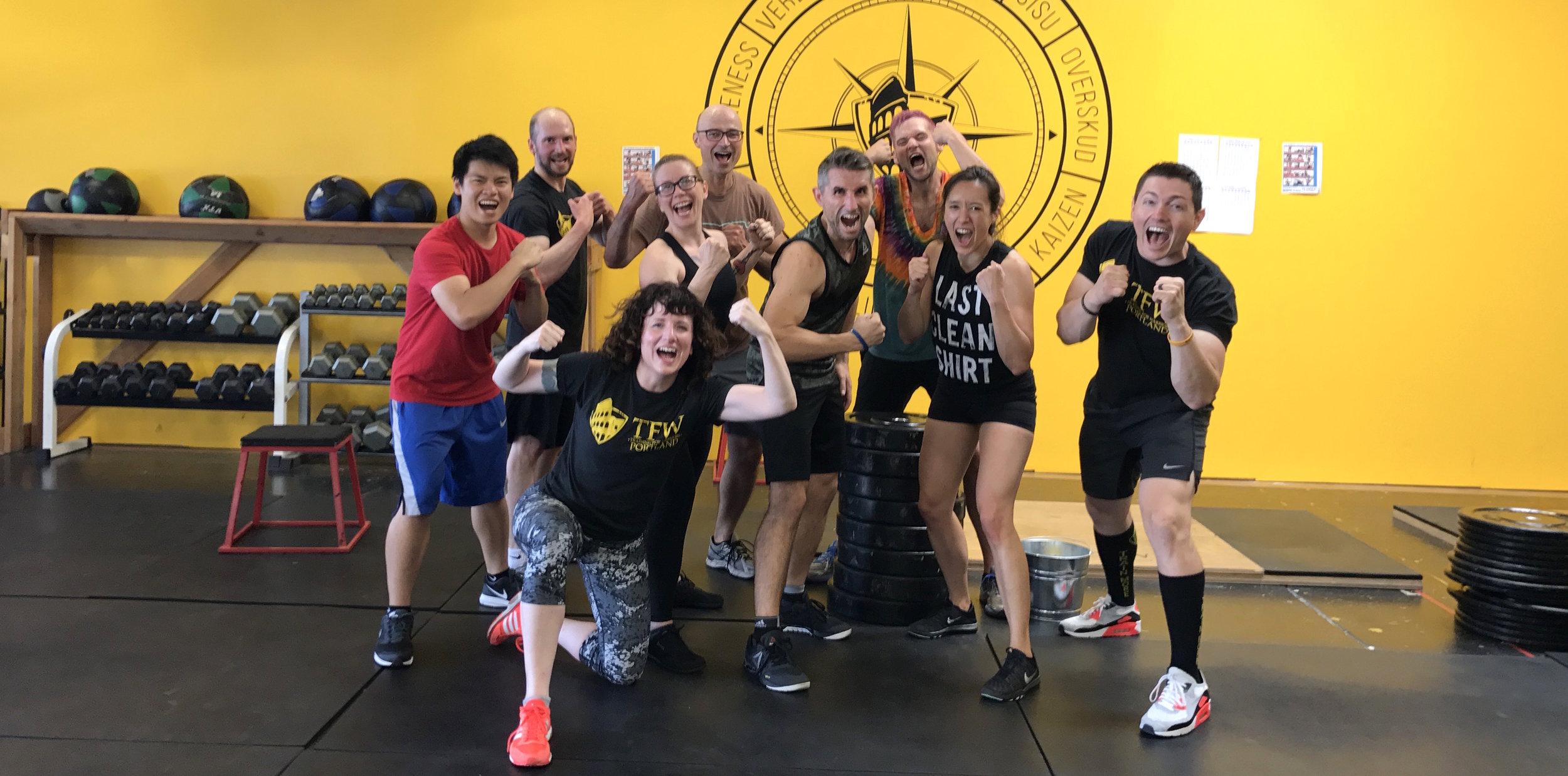 Training for Warriors Personal Training Team Training