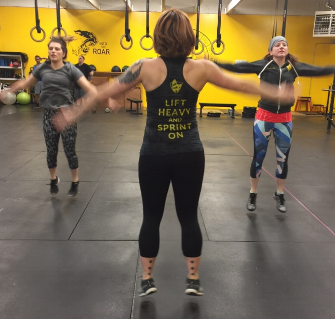 Lift Heavy and Sprint at Training for Warriors Portland