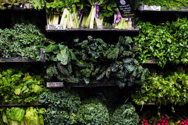 Get your veggies in! Training for Warriors Portland