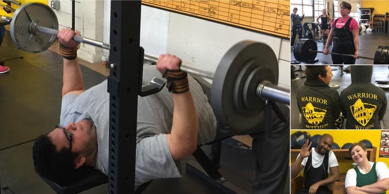 Come test your strength with Pound for pound powerlifting
