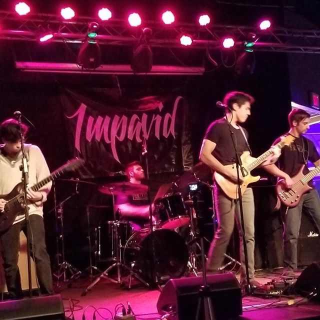 Come see Impavid play @debonairmusicnj Friday, June 14th. Dm band members for ticket info. - - - - - - - - #band #music #impavid #debonairmusichall #guitar #bass #drums #guitarist #sing #singing #drummer #bassist #lobsterdoo #scrappydoofakedthemoonlanding #nutfree #himalayansalt