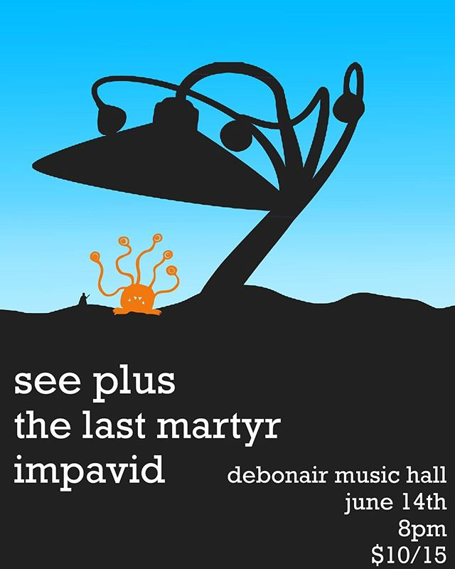Come check us out @debonairmusicnj  Tomorrow night at 8pm With @thelastmartyr.official and @seeplus Tickets are 10 from us and 15 at the door