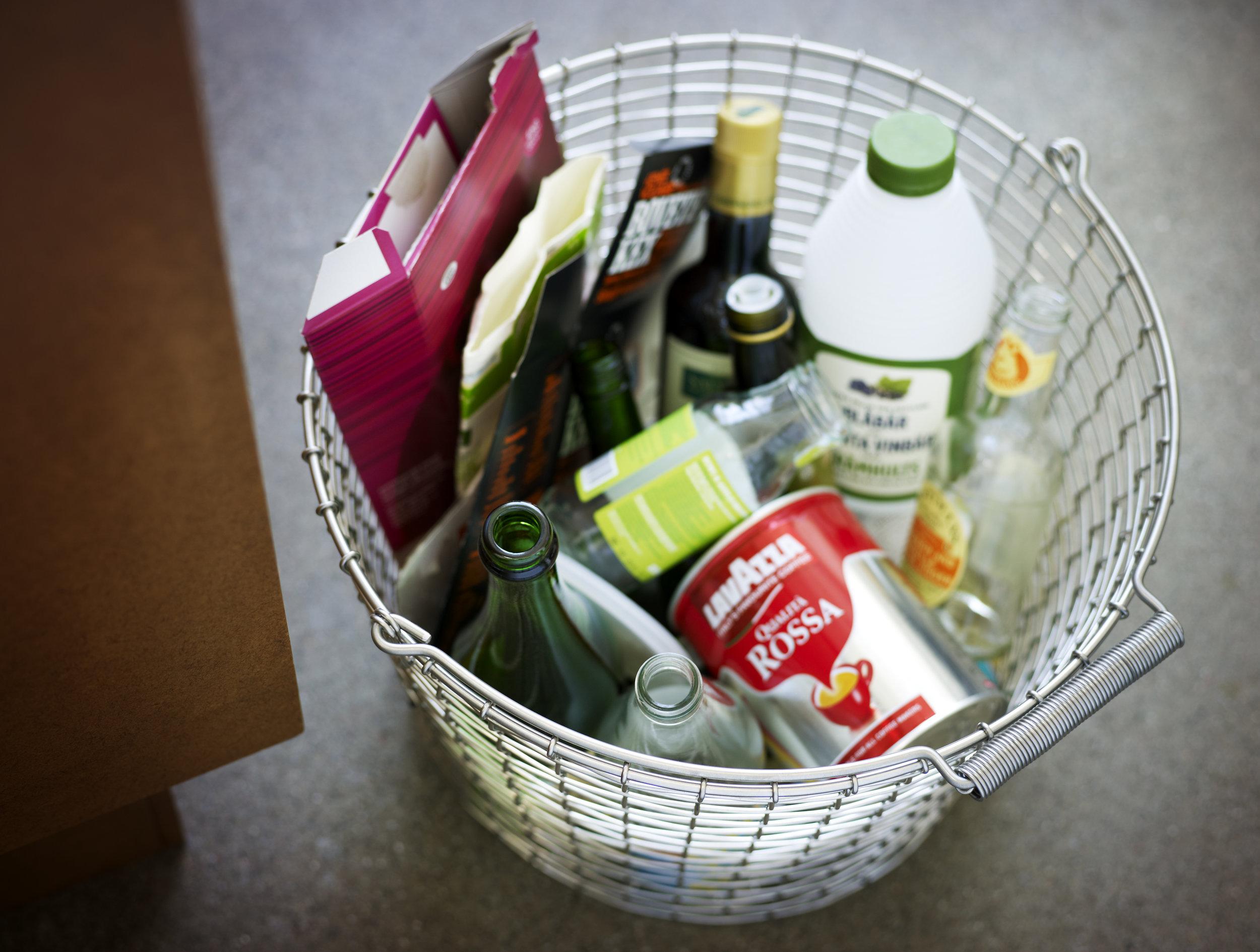 Korbo bucket recycling