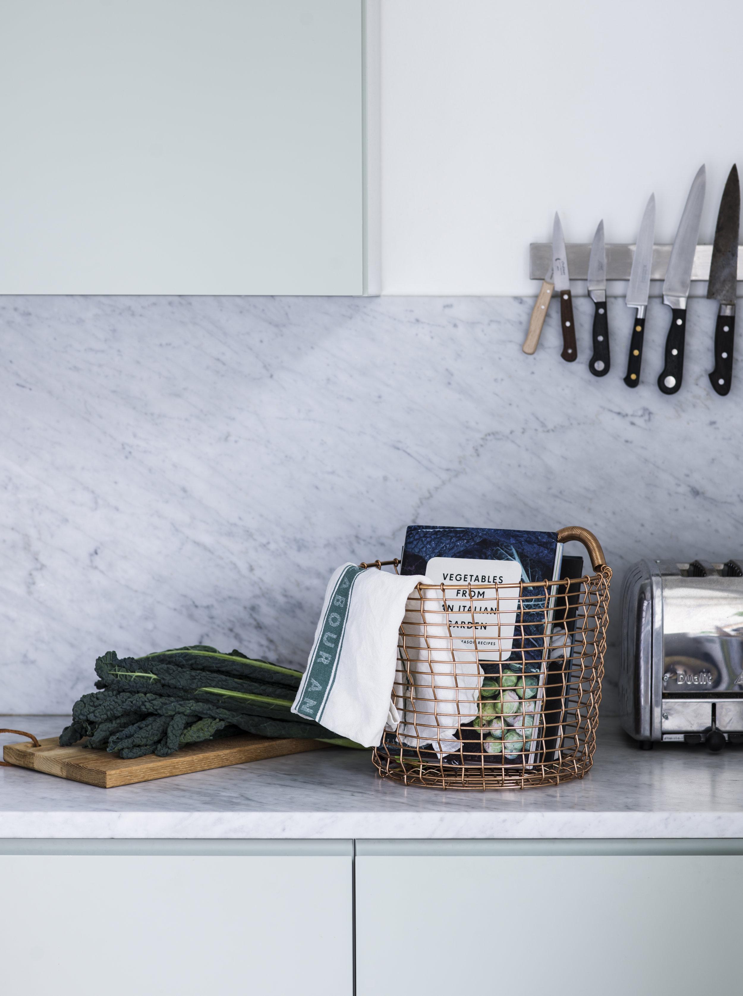 Kitchen basket Bin 16 Copper