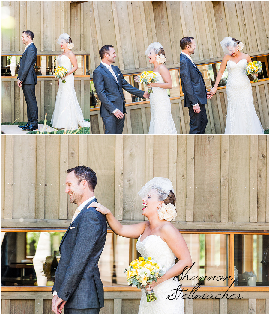 First Glance Napa Wedding