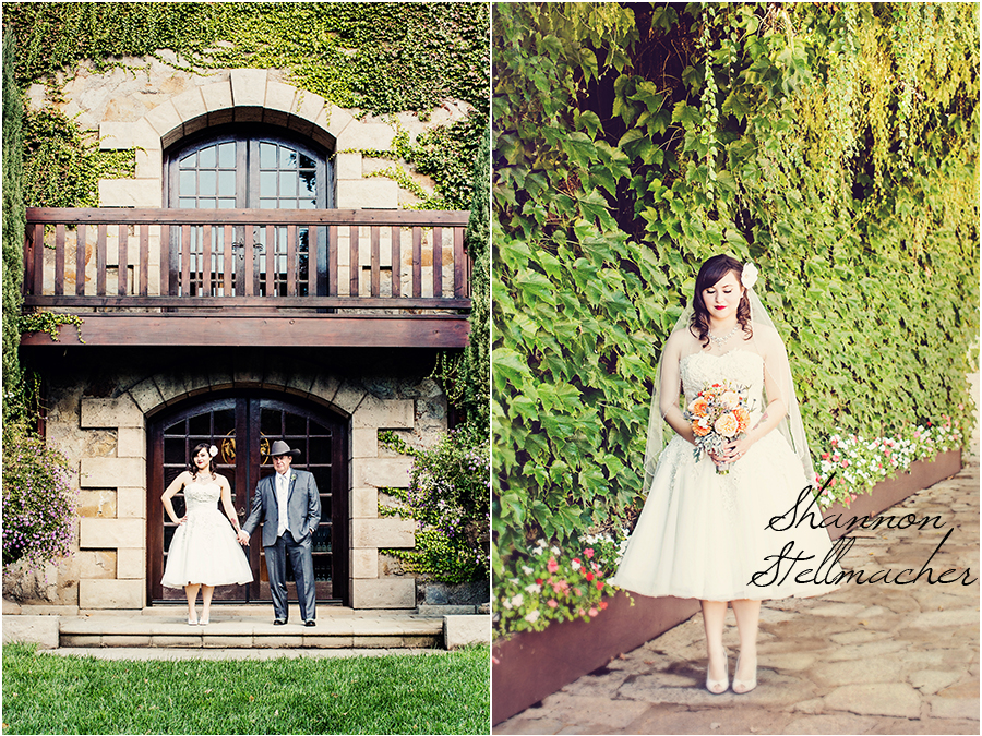 Retro Wedding Wine Country 2